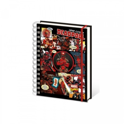 Carnet de Notes Spirales - Deadpool - Comic - A5