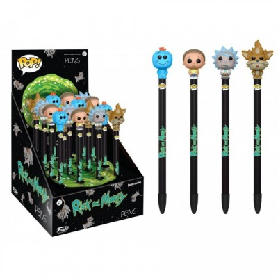 Rick et Morty - Pen Toppers POP (Stylos) - POP