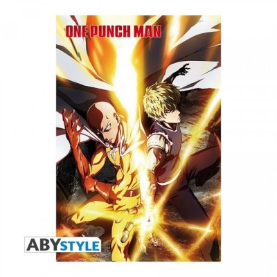 Poster roulé - Saitama & Genos - One Punch Man - 91.5x61cm