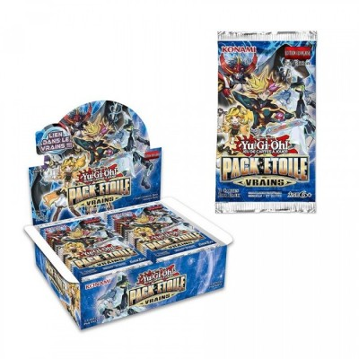 "Cartes Yu-Gi-Oh! - Booster ""Pack Étoile Vrains"" - (50 booster) FR"