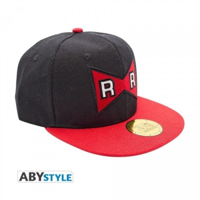 Casquette - Dragon Ball - Red Ribbon - Noir & Rouge