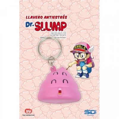 Caca Rose - Dr Slump - Porte-clefs anti-stress