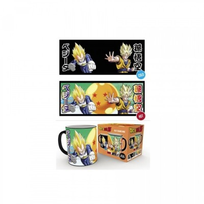 Mug - Dragon Ball - Saiyans - Thermo Réactif