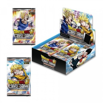 "JCC - Booster ""Tenkaï Ichi Budokaï"" TB02 - Dragon Ball Super ""Theme Booster 02"" (FR) - (24 boosters)"