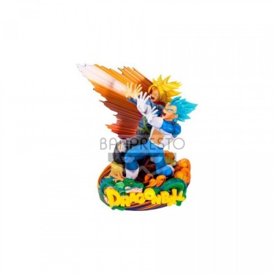 """Diorama"" - Dragon Ball - Vegeta et Trunks - 20cm"