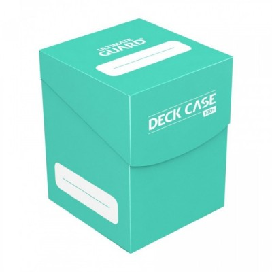Ultimate Guard - Boîte pour cartes - Deck Case 100+ taille standard Turquoise - 97 x 72 x 79 mm
