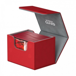 Ultimate Guard SideWinder™ 100+ taille standard XenoSkin™ Rouge - 79 x 104 x 88