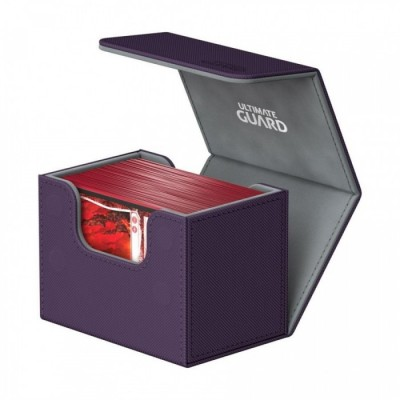 Ultimate Guard SideWinder™ 80+ taille standard XenoSkin™ Violet - 97 x 78 x 78 mm