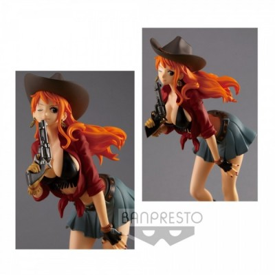 Cowboy Nami - One Piece - World Journey - 19cm