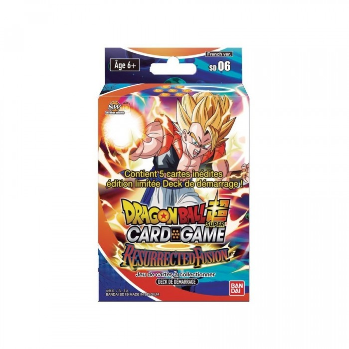 JCC - Starter 6 - Dragon Ball Super Serie 5 (FR) x6