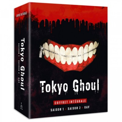 Tokyo Ghoul - Intégale Saison 1 & 2 + OAV - Edition BR -  VF + VOSTFR