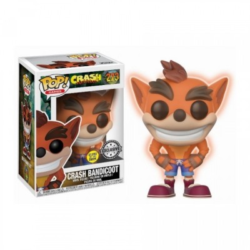Crash (Glow in the Dark) - Crash Bandicoot (273) - Pop Game - Exclusive