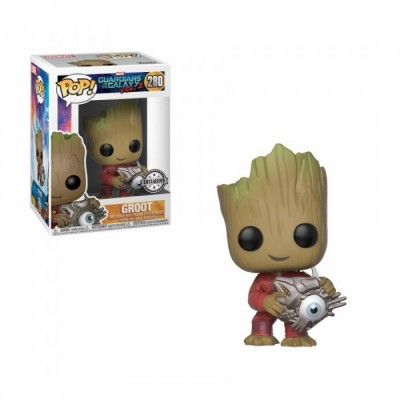 Groot w/ Cyber Eye - Gardiens de la Galaxie (280) - Pop Marvel - Exclusive