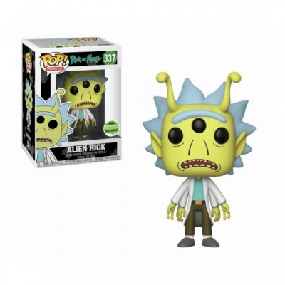 Alien Head Rick - Rick and Morty (337) - Pop Animation - Exclusive