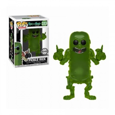 Pickle Rick (Translucent) - Rick and Morty (333) - Pop Animation - Exclusive