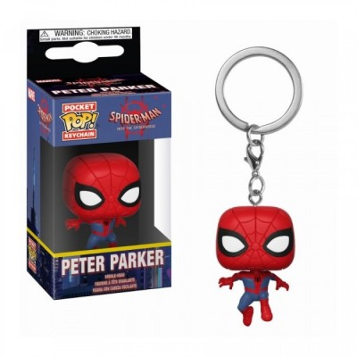Peter Parker - Animated Spider-Man - Pocket POP Keychain