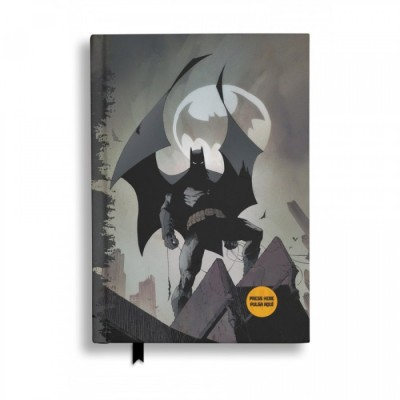 Carnet de Notes (Light-up) - DC - Batman / Bat Signal - A5 (21 x 14.9cm)