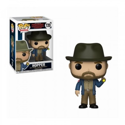 Hopper w/Flashlight - Stranger Things (720) - Pop TV