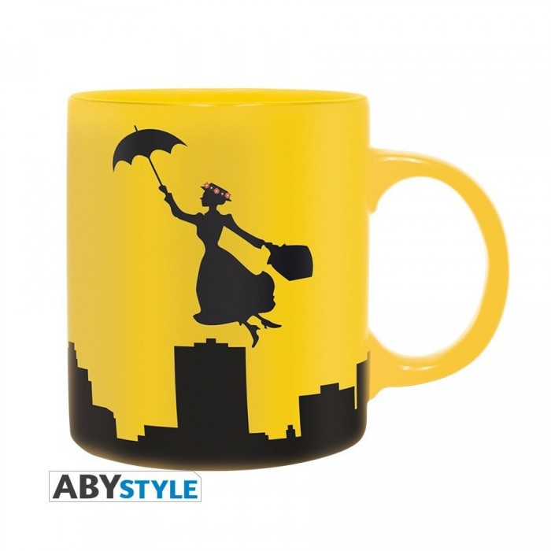 Mug - Mary Poppins - Silhouette - 320ml