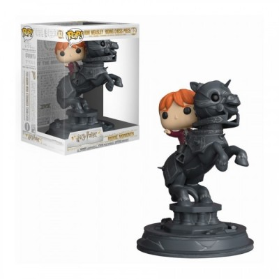 Ron Riding Chess Piece - Harry Potter Movie Moments - POP Movie