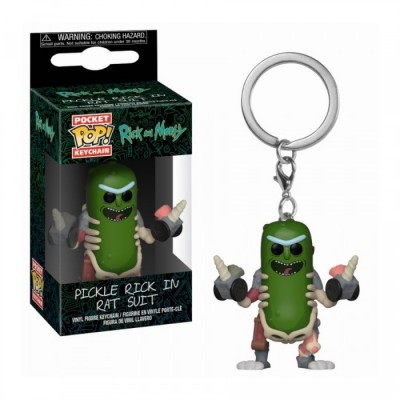 Rick in Rat Suit - Rick & Morty - Pocket POP Keychain