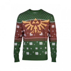 Pull de Noël - Golden Hyrule Knitted - L