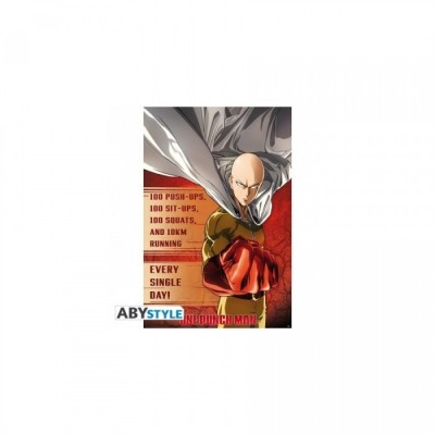 """One Punch Man - Poster """"Entrainement"""" (91.5x61)"""