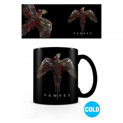 Mug Thermo Réactif - Harry Potter - Fawkes (Phoenix) - 315 ml