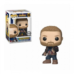 Captain America w/Shield - Avengers Infinity War (299) - Pop Marvel - Exclusive