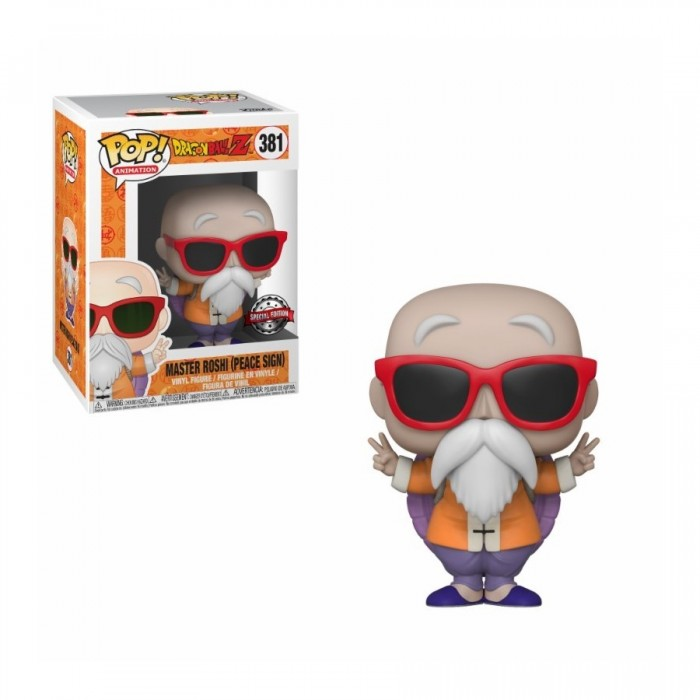 Master Roshi (Peace Sign) - Dragon Ball Z (381) - Pop Animation - Exclusive