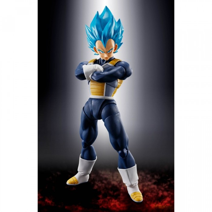 S.H. Figuarts - Super Saiyan God Vegeta - Dragon Ball - 14cm