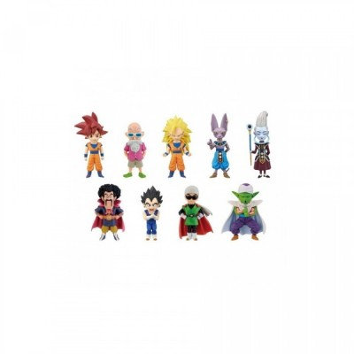 Dragon Ball - WCF - God vs God - 7 cm (vendu par 12)