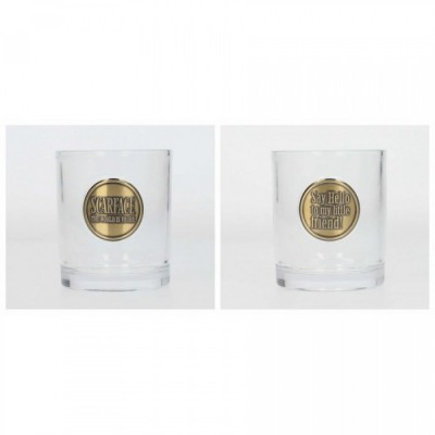 Pack 2 Verres Scarface - Phrases cultes (Say Hello)