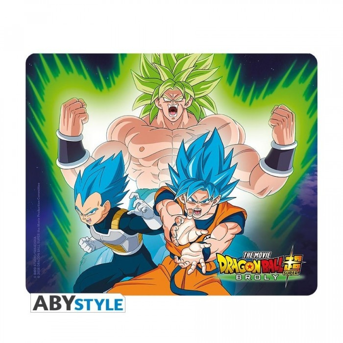 Tapis de Souris - Dragon Ball Super - Broly Vs Goku & Vegeta