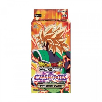 "JCC - Premium Pack ""Broly - Clash of Fates"" GE02 - Dragon Ball Super (FR) x8"