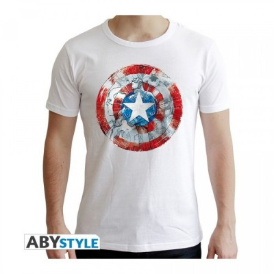 T-shirt - Captain America classic - Marvel - S