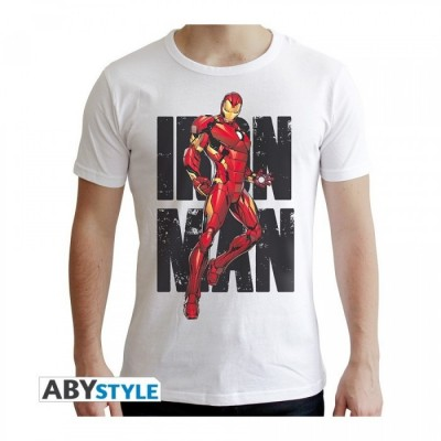 T-shirt - Iron Man classic - Marvel - L