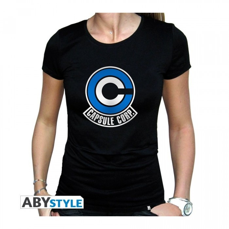 T-shirt Dragon Ball - Capsule Corp femme - XL