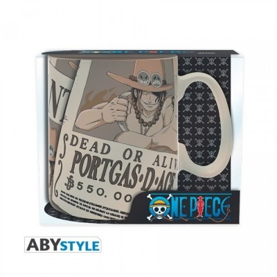 Mug - Wanted Ace - One Piece