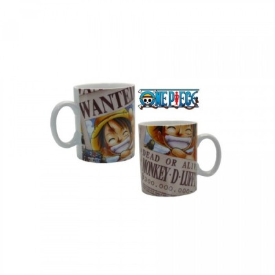 Mug - One Piece - Luffy Wanted