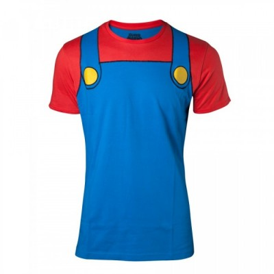 T-shirt - Super Mario Cosplay Men's - Nintendo - L