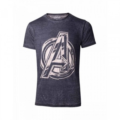 T-shirt - Avengers Logo Men's - Marvel - S