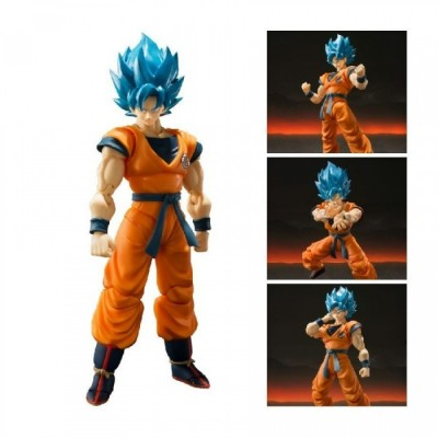 S.H. Figuarts - Super Saiyan God Son Goku - Dragon Ball - 14cm