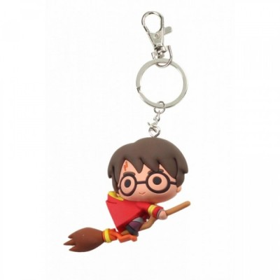 Porte-Clef PVC - Harry Potter sur Balai - Harry potter