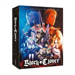 Black Clover - Saison 1 Box 1/2 - Edition Collector DVD - VOSTF + VF