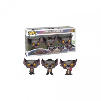 Banzai, Shenzi et Ed - Le Roi Lion (pack de 3) - Pop Disney - Exclusive Convention