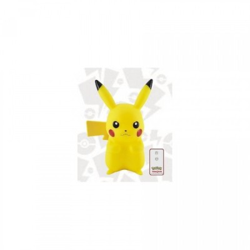 Lampe LED + télécommande - Pikachu - Pokemon - 25cm