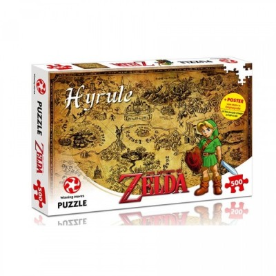 Puzzle - The Legend of Zelda Hyrule Field - 500 Pièces