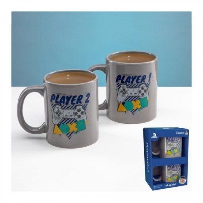 Mug - Playstation - Mugs Assortiment Player One / Player Two