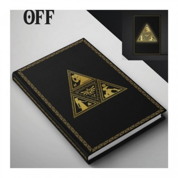 Carnet de Notes - Triforce (Light-up) - Zelda - A5